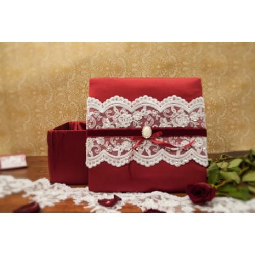 """Коробка для конвертов """"Марсала"""""""